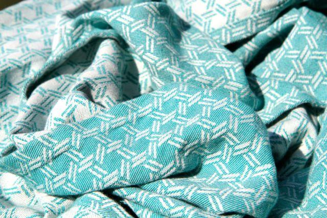 Yaro Slings Basket Emerald 100% bawełna